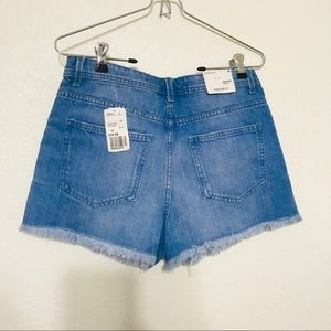 Forever 21 high rise jean shorts NWT